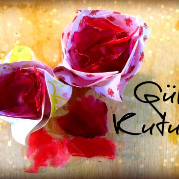 Time for Roses: Origami Gül Kutusu